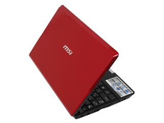 Wind Netbook U123 �l�b�g�u�b�N RED