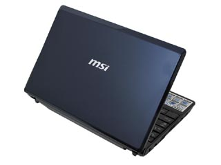 Wind Netbook U123 �l�b�g�u�b�N BLUE