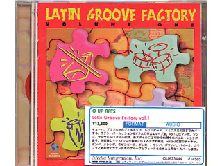 【クリックで詳細表示】Q UP ARTS Latin Groove Factory vol.1 SALSA!