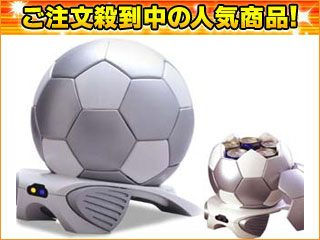 GT-04 SV  サッカーボール型保冷温庫4L(Silver×White)