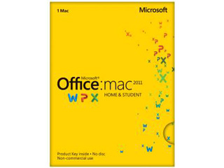 Office for Mac Home and Student Family Pack 2011 日本語版 W7F-00024