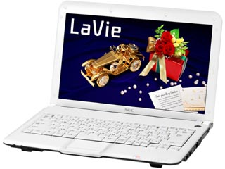 PC-LM350VG6W LaVie M �O���X�z���C�g Office Personal 2007���ڃ��f��