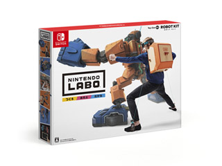 Nintendo Labo Toy-Con 02: Robot Kit【Switch】