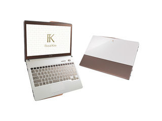13.3�^�m�[�gPC LIFEBOOK/���C�t�u�b�N CH�V���[�Y Floral Kiss FMVC75WW Clear White with Brown