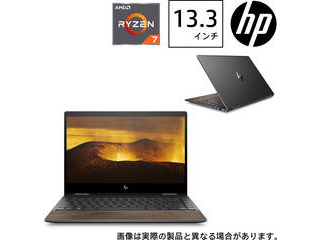 タッチ対応13.3型ノートPC HP ENVY x360 G1(Ryzen7/16GBメモリ/512GB SSD/Officeなし) 8WE07PA-AAAA
