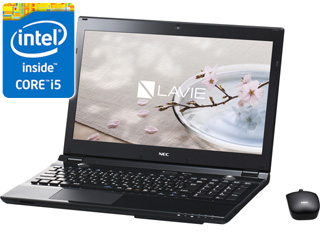 15.6�^�m�[�gPC LAVIE�i�����B�j Smart NS�iS�j PC-SN234GSA7-1 �N���X�^���u���b�N