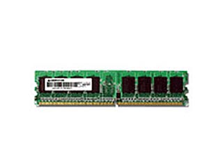 【受注生産につきキャンセル不可】GH-DS533-512ECD 533MHz(PC2-4200) 240pin DDR2 SDRAM ECC DIMM 512MB