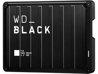 USB3.2 Gen 1(USB 3.0)対応ゲーム用ポータブルHDD 4TB WD_Black P10 JAPAN WDBA3A0040BBK-JESN